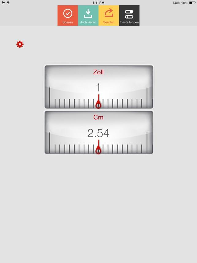 Zoll Cm Im App Store