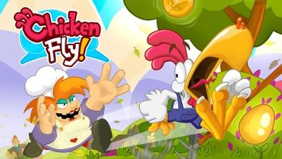 Chicken Fly: Platform Jumper screenshot one
