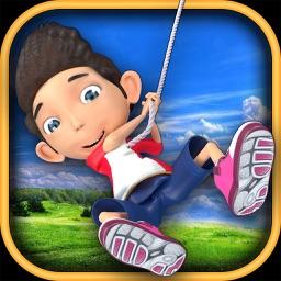 Rope Rider : Jungle Jump