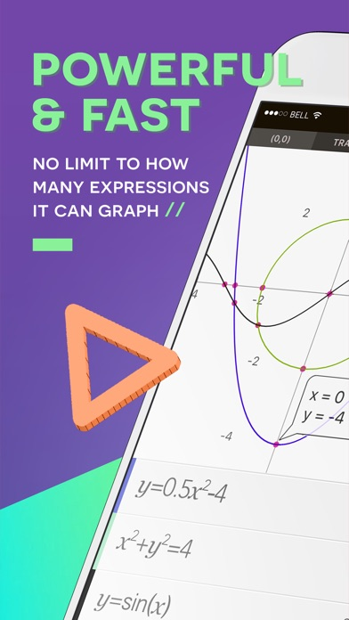 Graphing Calculator+ Screenshot 1