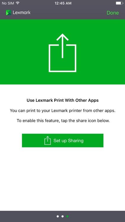 Lexmark Mobile Print for ME screenshot-4