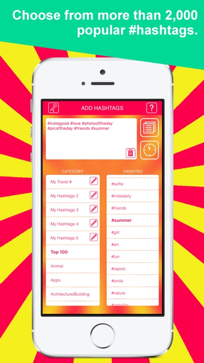 Hashtags by PreGram: Hashtag Manager for Instagram