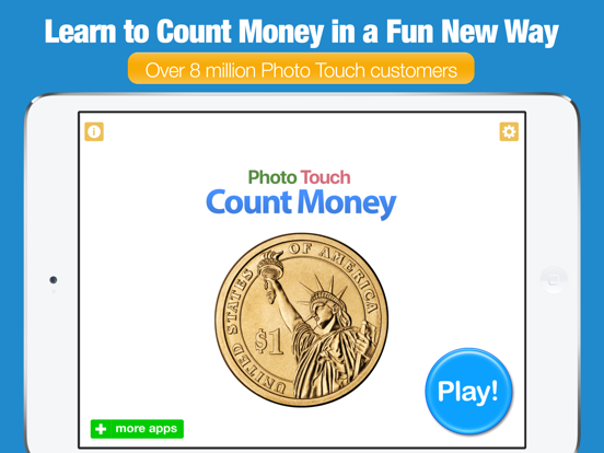 Count Money and Coins - Photo Touch Game screenshot 6