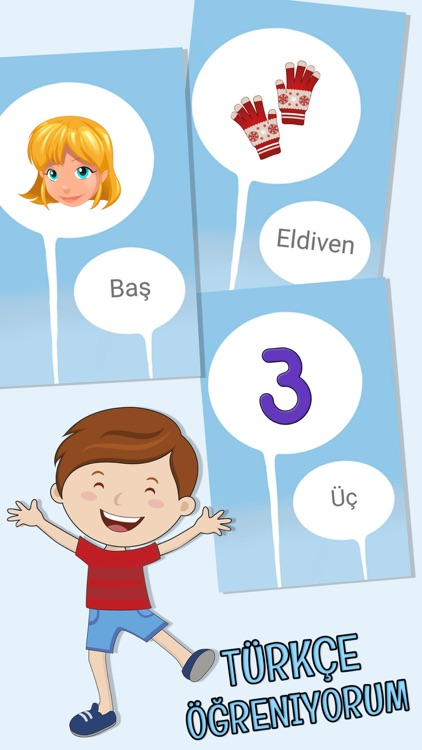 My first words - Learn Turkish for kids screenshot-3