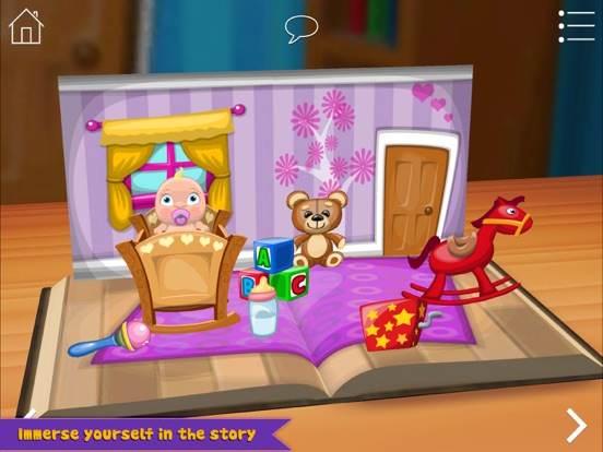 Grimm's Rapunzel ~ 3D Interactive Pop-up Book iPad