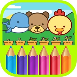 Animal Coloring Pages - Painting Games for Kids