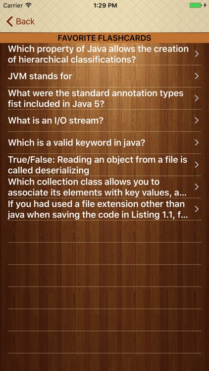 Learn Java with Flashcards screenshot-4