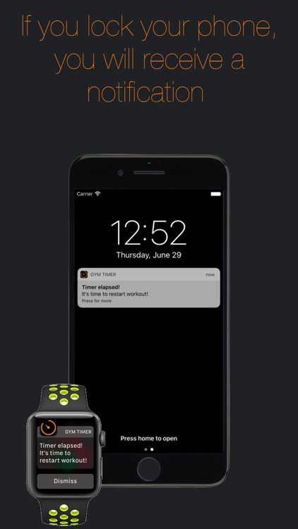Gym Timer - A timer for your rest time at the gym screenshot-4
