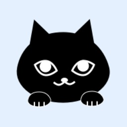 Blackcat Moji 2 Kawaii emoji