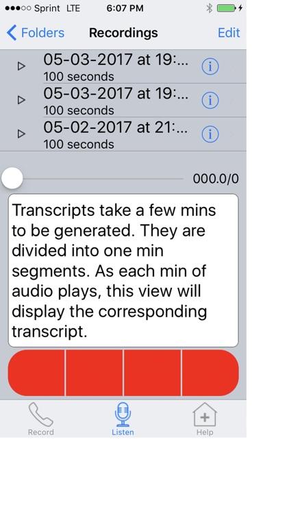 Call Transcriber & Recorder