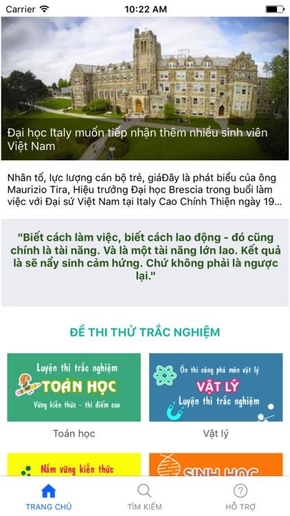Ôn thi THPT quốc gia - Matran.vn app image