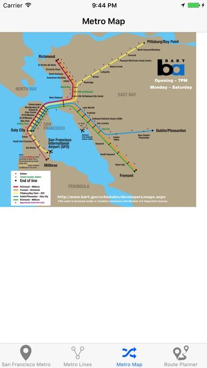 San Francisco Metro screenshot-4
