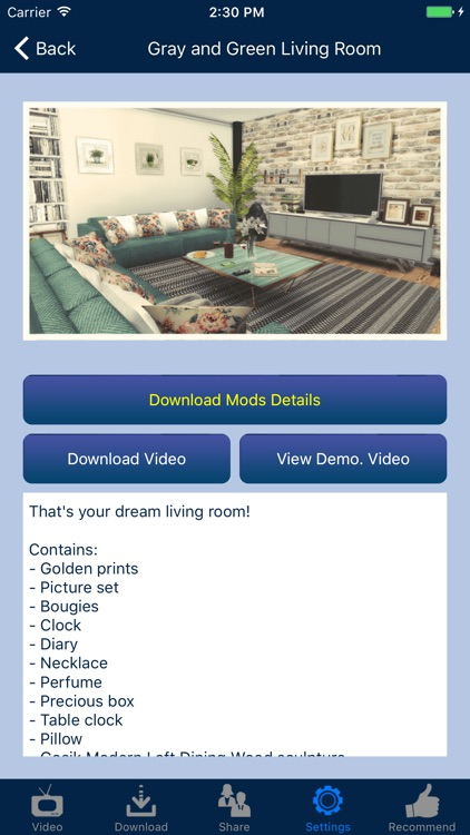 Home Design Mods for Sims 4 screenshot-0