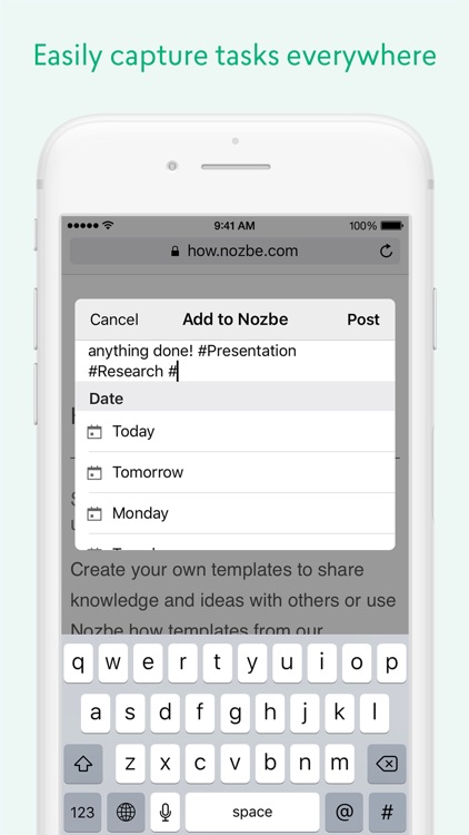 Nozbe: Tasks, Projects & Team Productivity screenshot-4