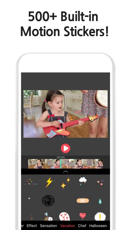 Vimo - Video editor + Motion Sticker and Text