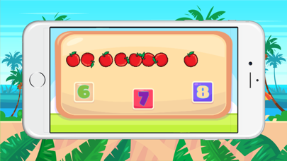 Fruits counting : Number maths games screenshot two