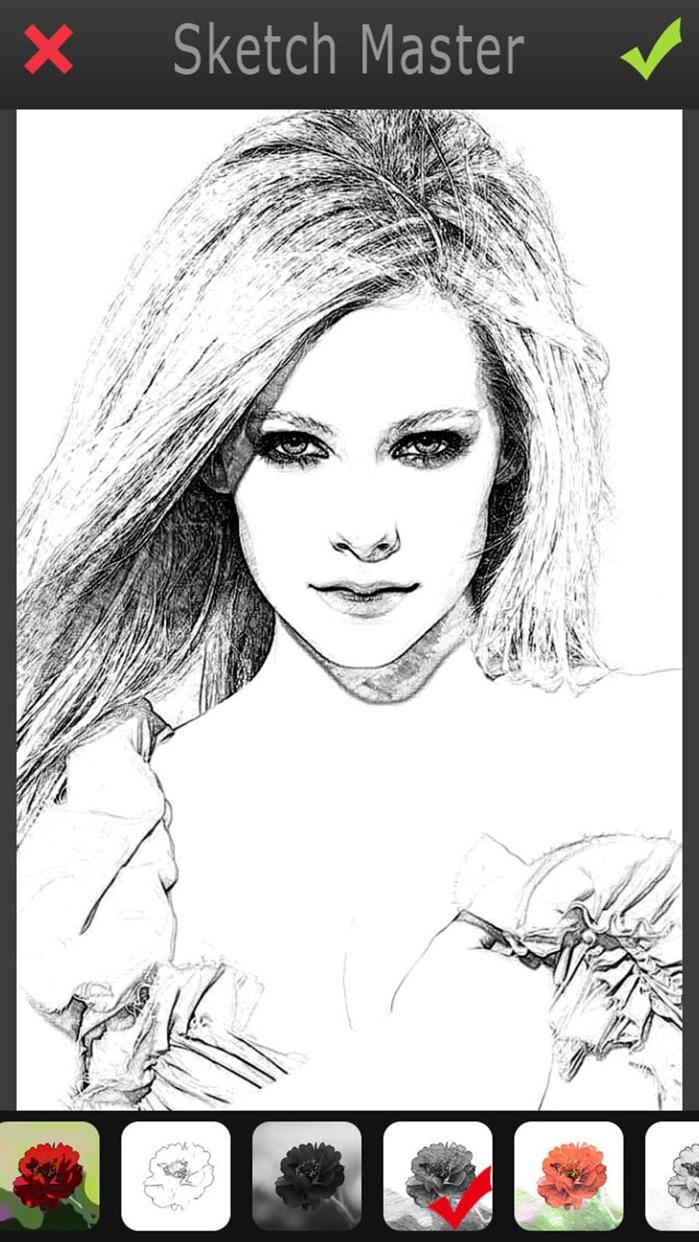 Sketch Master - My Cartoon Photo Filter Avatar Pad Screenshot