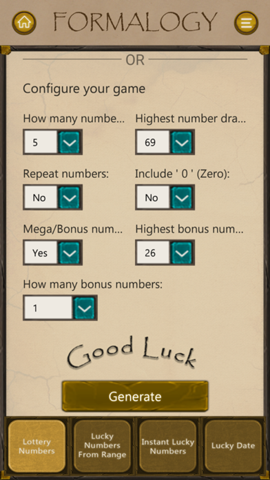 Lucky Lottery Result