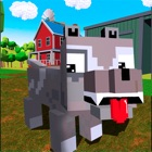 Blocky Dog: Farm Survival Full icon