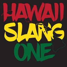 Hawaii Slang Sticker Pack 1
