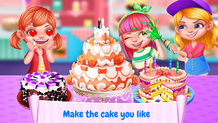 Cake Maker! Best Food Sweet Cooking Games