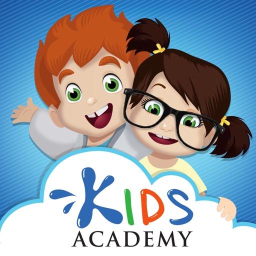 Kids Academy - preschool learning games for kids app logo