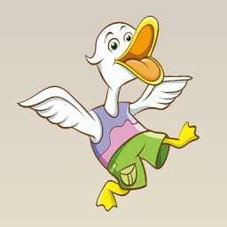 Cute and Adorable Duck Stickers : Flocking Great!