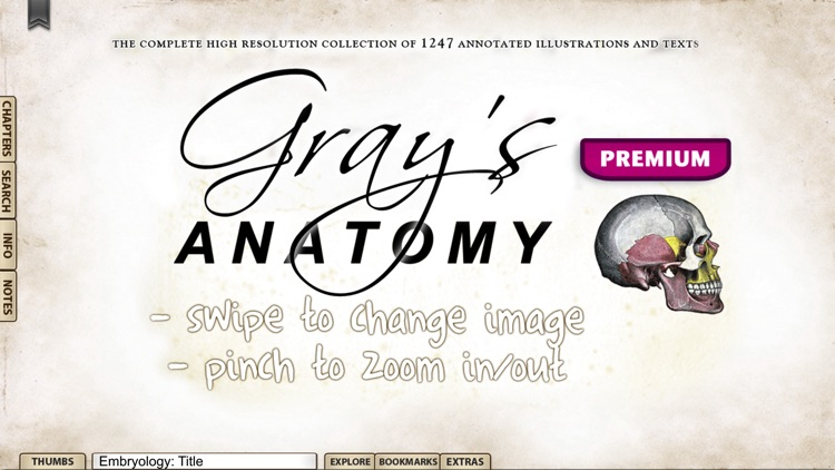 Gray's Anatomy Premium Edition screenshot-0