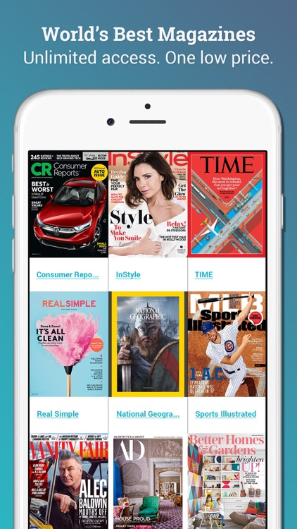 Texture – unlimited digital magazines app image