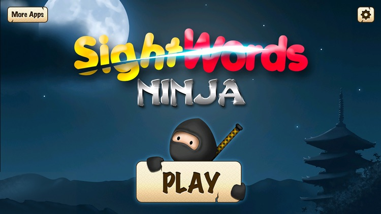 Sight Words Ninja - Slicing Game to Learn to Read screenshot-0