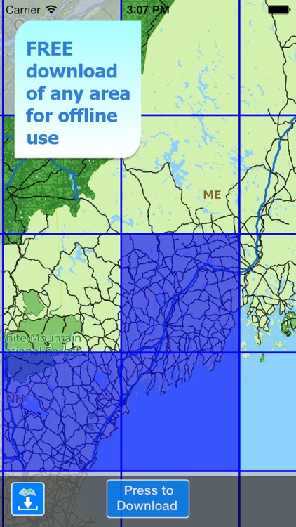 Aqua Map Maine ME Lakes - GPS Nautical Charts screenshot-4