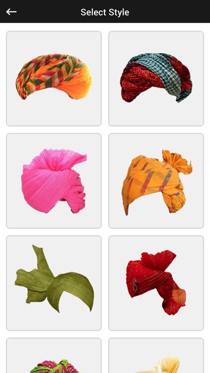 Rajasthani Turban Photo Editor - Turban Sticker screenshot-3