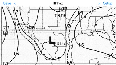 Hf Weather Fax review screenshots