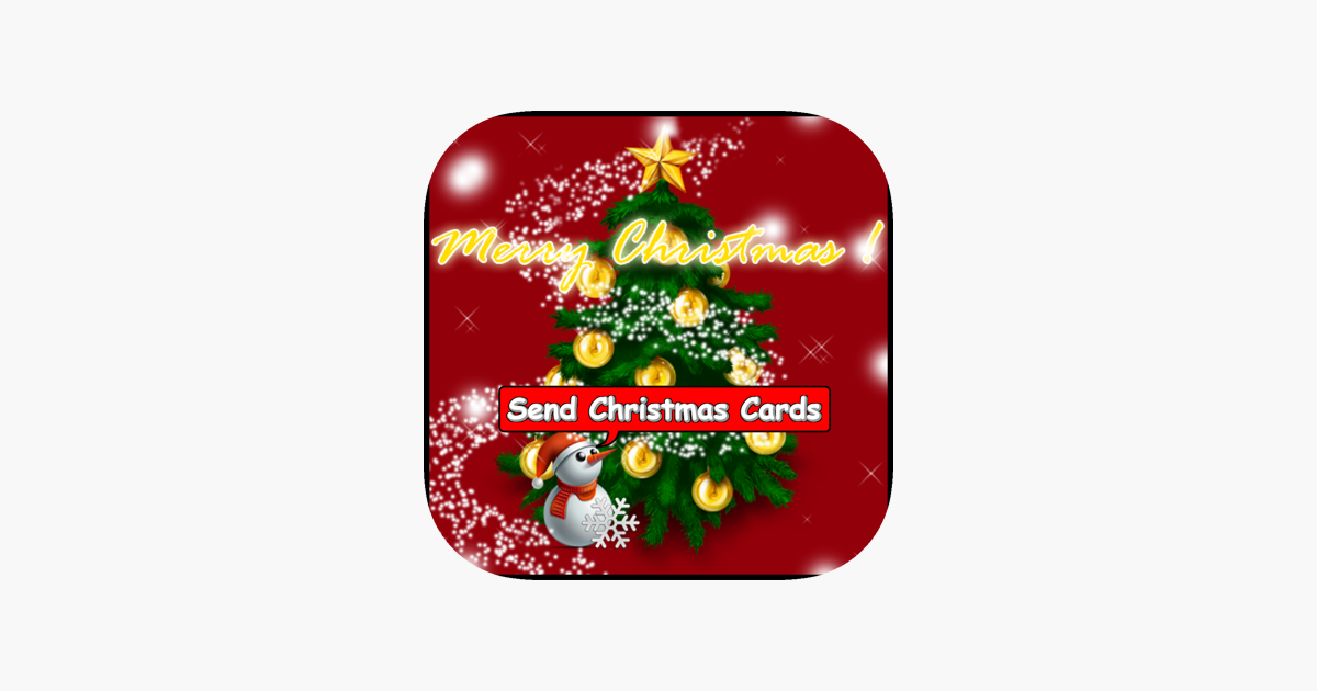 christmas cards for iphone on the app store - Send Christmas Cards
