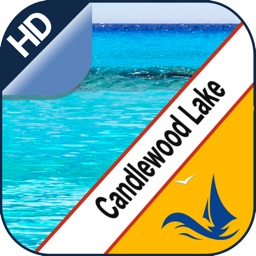 Candlewood Lake GPS offline nautical boaters chart