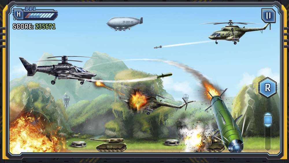 Helicopter Fight: Apocalypse Cheat Codes