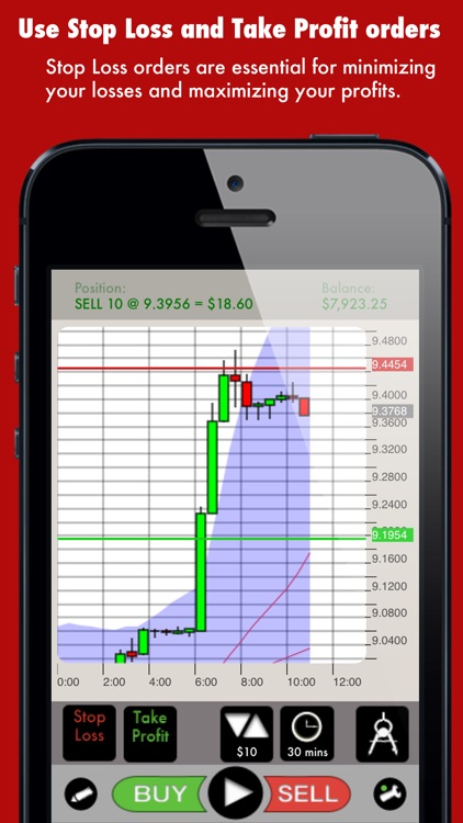 Spoof Trader trading simulator screenshot-3