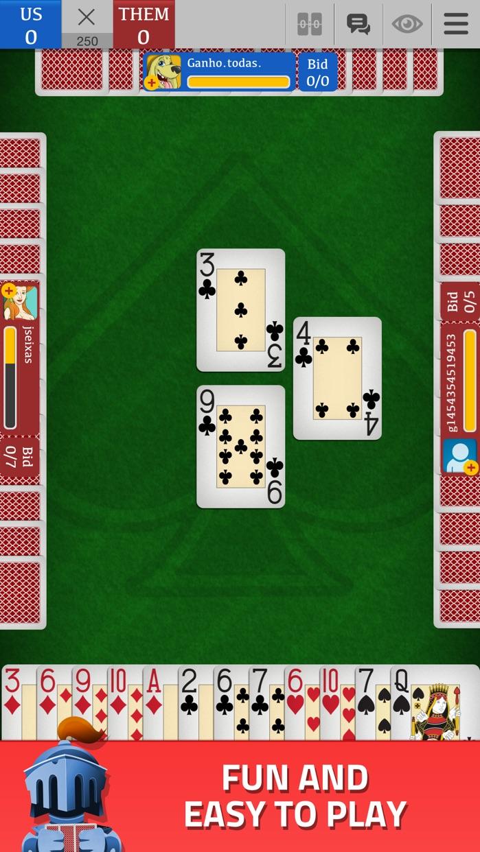 Spades - Classic Card Game Screenshot