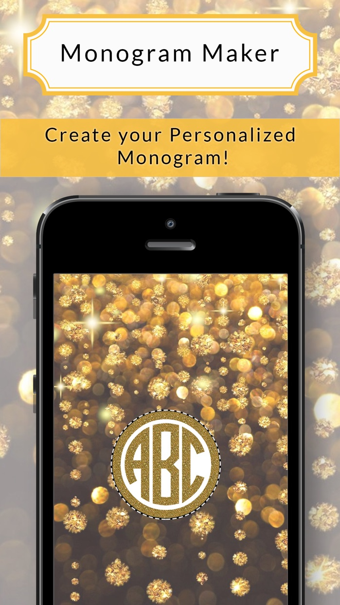 Monogram Wallpaper & Backgrounds - Monogram Maker Screenshot
