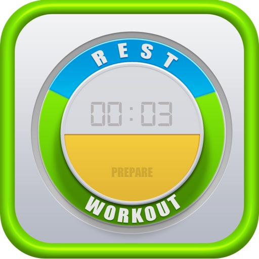Tabata Timer X² - interval HIIT trainer FREE icon