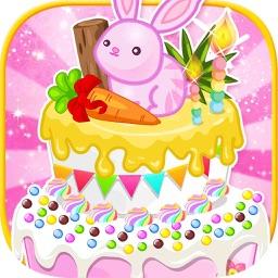 Princess Birthday Cake -  Kid Games