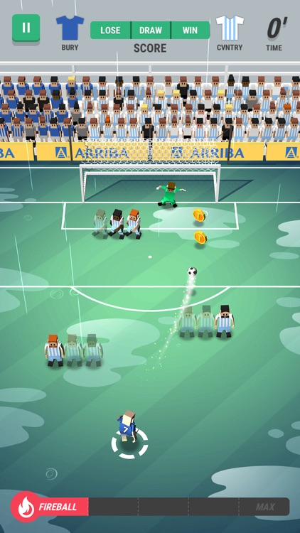 Tiny Striker: World Football screenshot-3