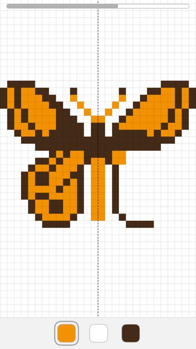 Symmetry 2: Finish the Symmetrical Drawing Screenshot
