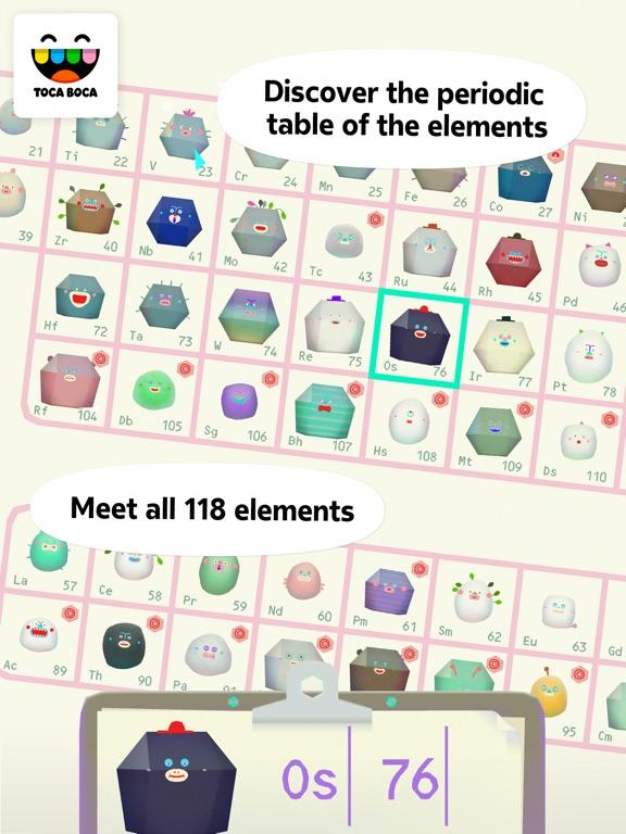 Toca Lab: Elements iPad