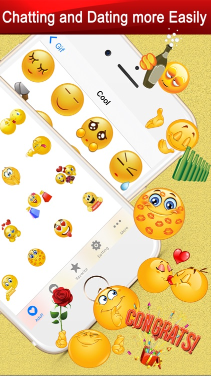 Twitch Emoji - Emotion keyboard Text Adult Smileys