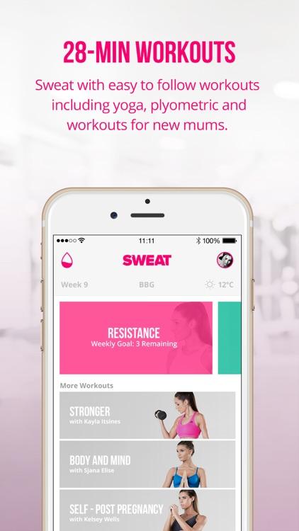 Sweat: Kayla Itsines' Bikini Body Fitness Workouts