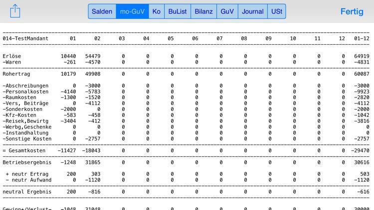 Doppelte Buchhaltung für iPad und iPhone screenshot-3