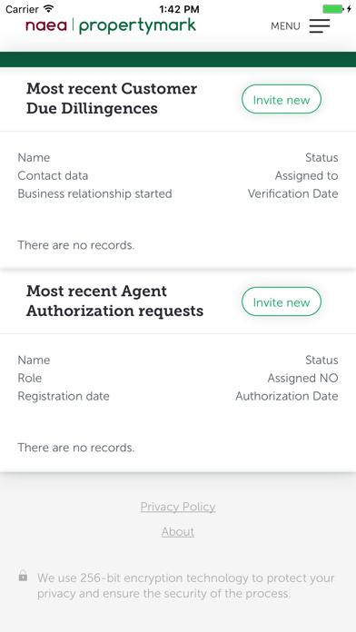 NAEA Propertymark Passport screenshot two