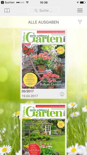 Mein schöner Garten Magazin im App Store