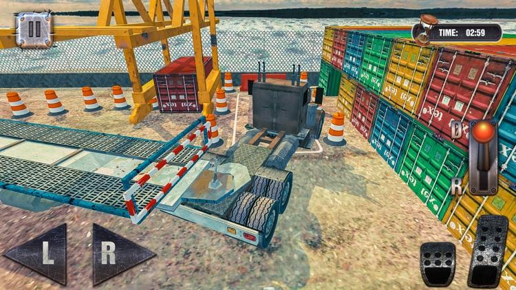 Port Truck Parking Simulator